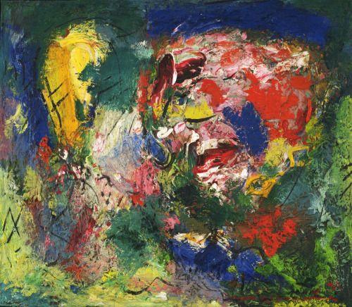 Hans Hofmann Flowering Desert 1953 Oil On Canvas 60 5 X 68 6 Cm Moma New York Source