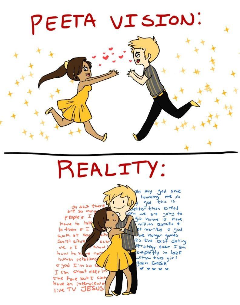 Peeta Version - The Hunger Games Fan Art (34403658 ...