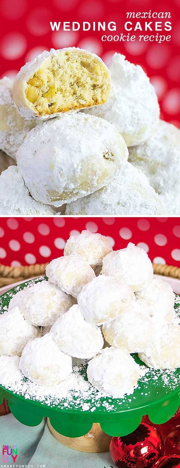 Mexican Wedding Christmas Cookie Recipes 2020 Mexican Wedding Cakes Recipe (or Russian Tea Cakes) Cookies
