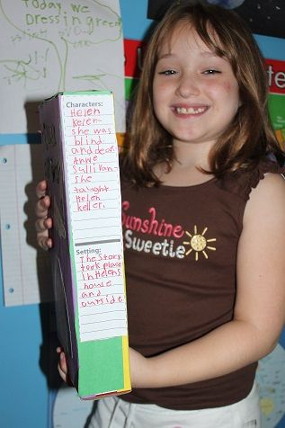 Biography Book Report Template  nd Grade   she s so cool biography