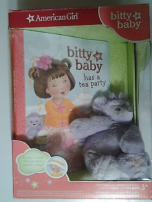 American Girl bitty baby has a tea party Book/mini Hedgehog Plush NIB! https://t.co/hRuvqB4t9S https://t.co/LcwRhwCA67