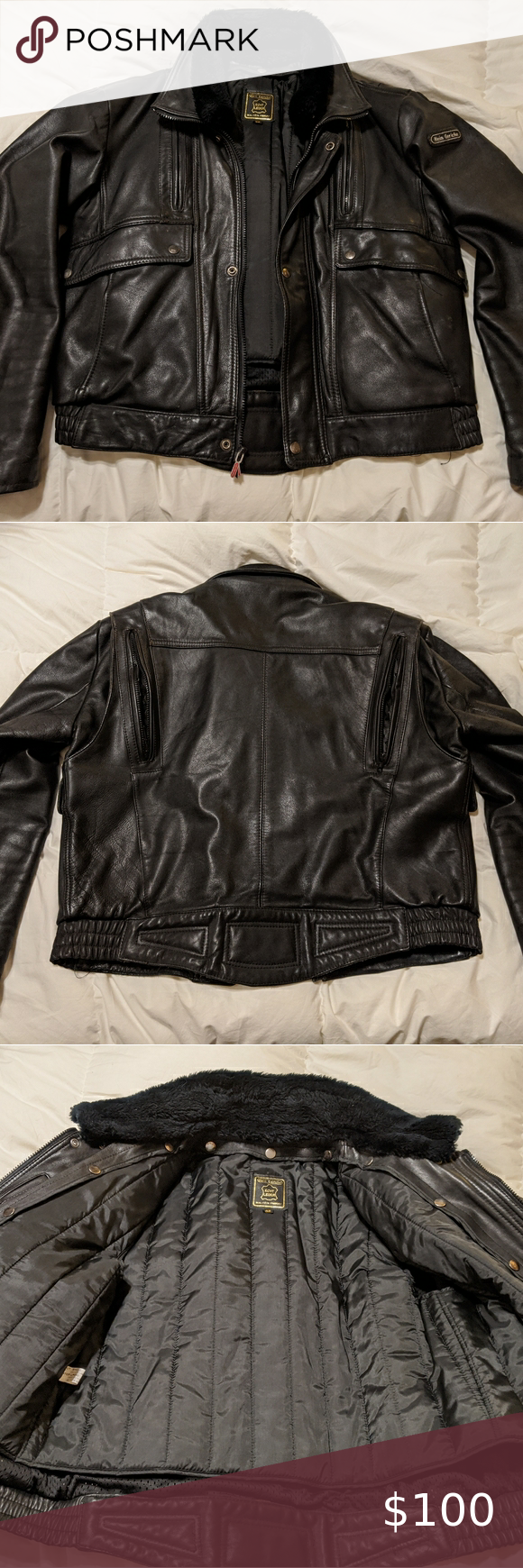 Leather Jacket Hein Gericke (motorcycle jacket) Hein