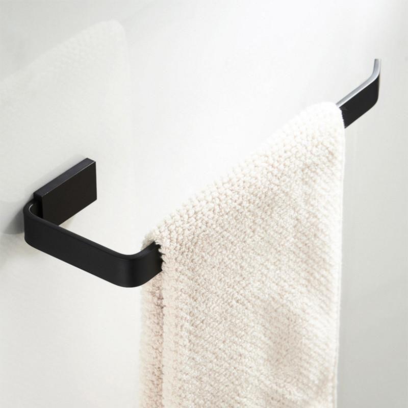 Black Towel Ring Wall Mounted Antique Vintage Brass Bath Bathroom Hand Towel Holder Bar Rail Hanger Wc Toilet Roll Paper Holder Bathroom Hand Towel Holder Hand Towel Holder Hand Towels Bathroom