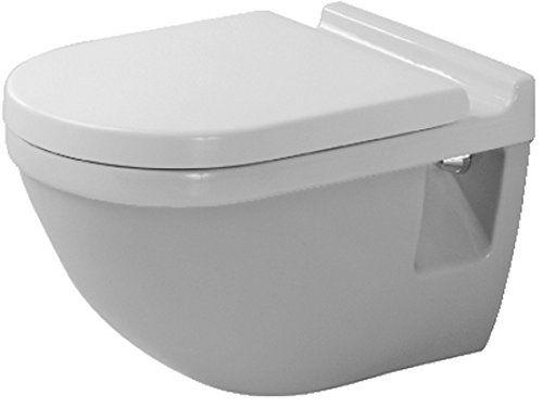 Duravit 2200090000 Starck 3 Wall Mount Toilet Bowl Toilet Wall Wall Mounted Toilet Wall Hung Toilet