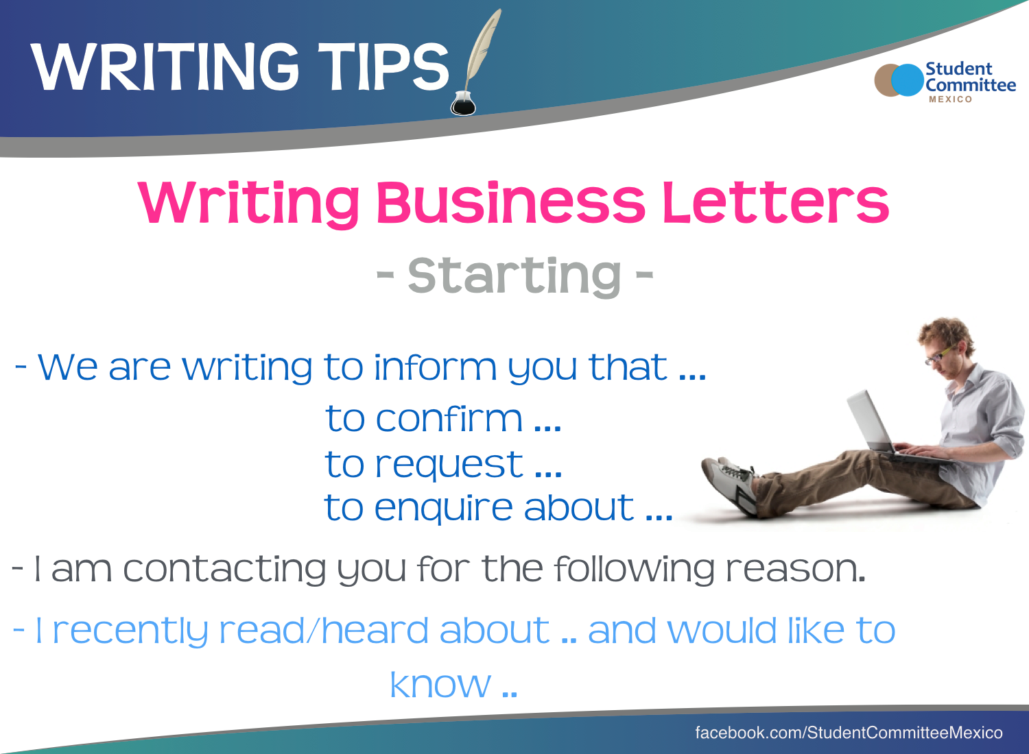 Business Letters Writing Tips  Knowledge    Business