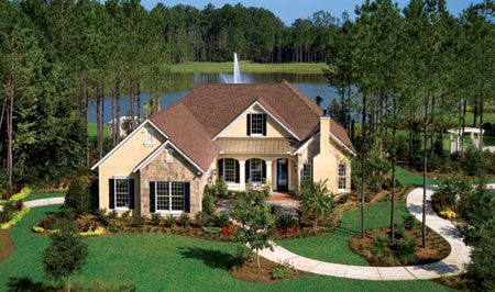Hampton hall model homes