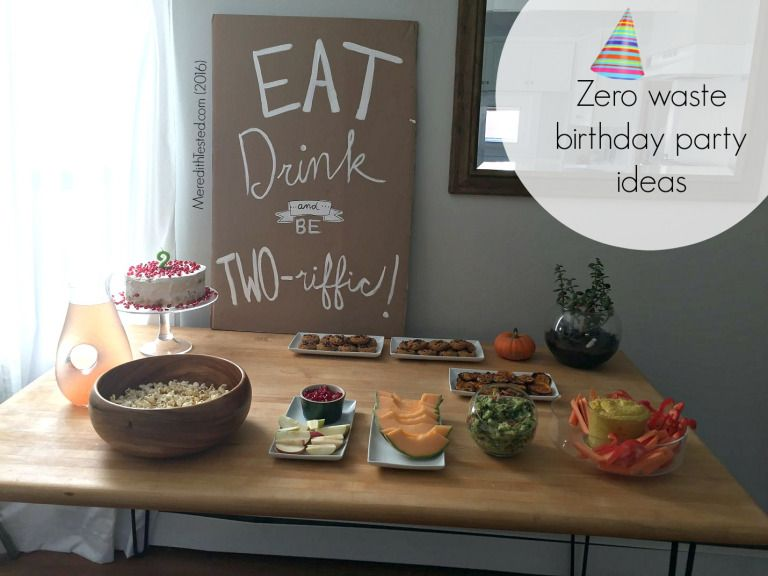 Zero Waste Kids' Birthday Party (With images) Kids