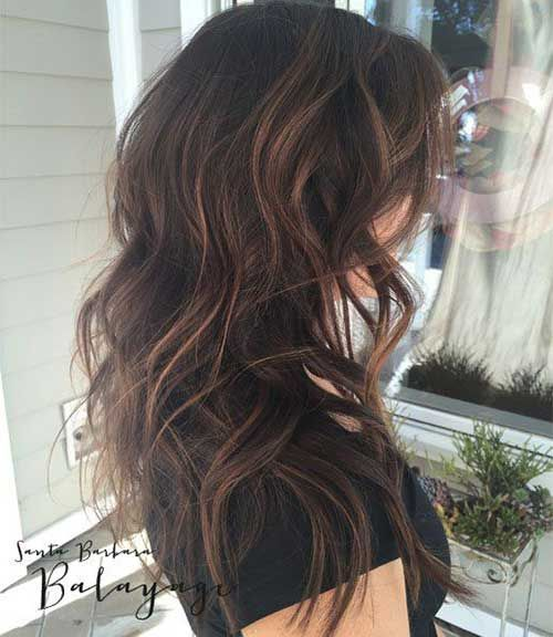 Balyage highlight for dark hair hair pinterest dark hair balyage highlight for dark hair pmusecretfo Images