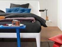 Auping essential pure white met hoofdbord interior design ideas