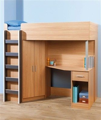 Brand New Kids Bunk Bed With Wardrobe And Desk Rrp 280 P Up