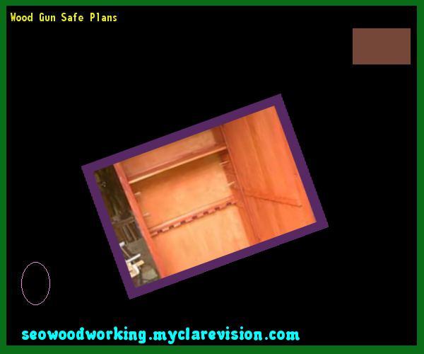 Wood Gun Safe Plans 215731 - Woodworking Plans and Projects!