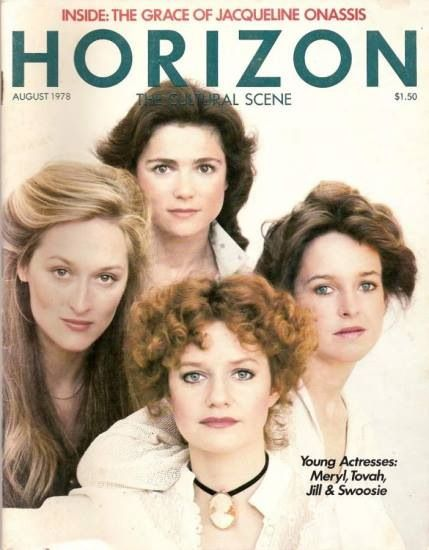 """On a magazine cover for when she was in a Tv show for a few episodes """"Uncommon Women and Others""""!"""