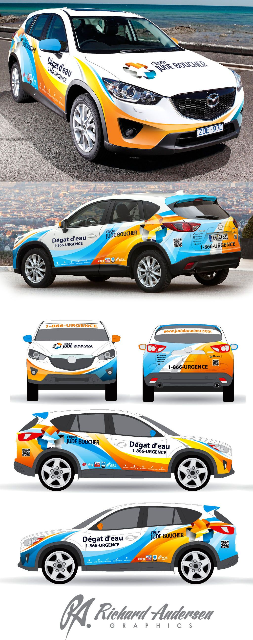 Car decals tribal graphic design zion series - Explore Vechicle Wrapping Wrapping Design And More