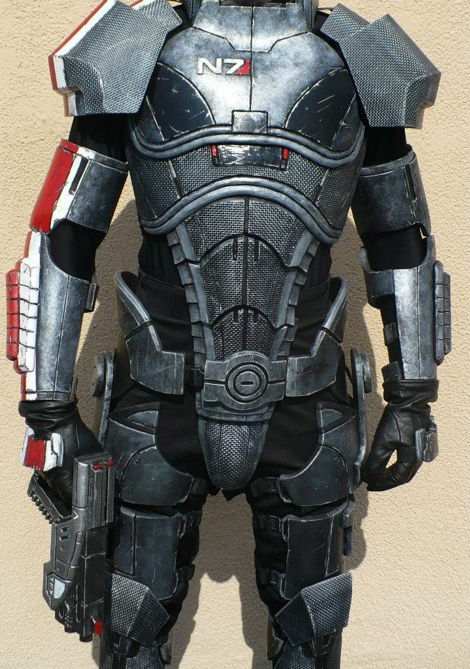 New n7 armor mass effect pinterest n7 armor for Mass effect 3 n7 armor template