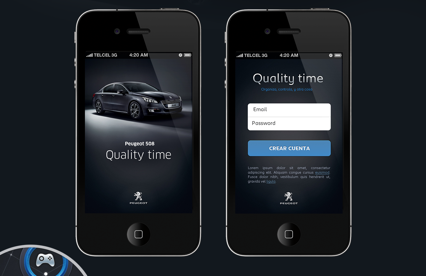 Quality time was a proposal app to measure your daily