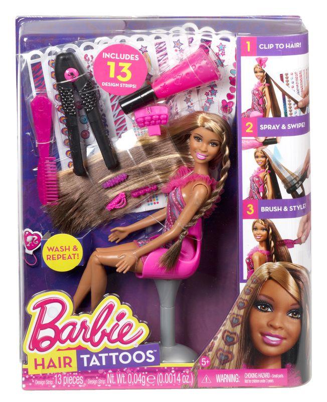 Barbie Hair Tattoos African American Doll Barbie Hair Playing With Hair Doll Hair