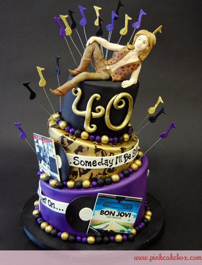 Bon Jovi Birthday Cake 187 Celebration Cakes Cchs Gala