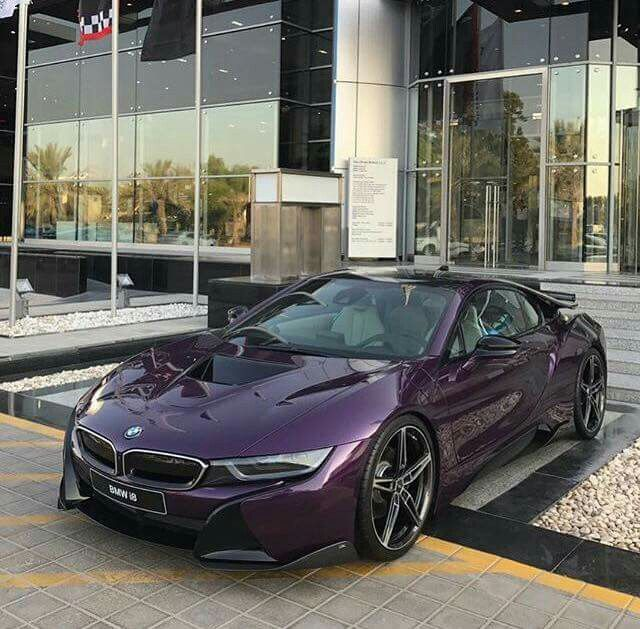 Bmw I8 Purple Bmw I8 Bmw Bmw I8 Bmw Cars