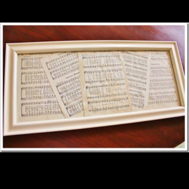 Best 25+ Framed sheet music ideas on Pinterest | Sheet ...