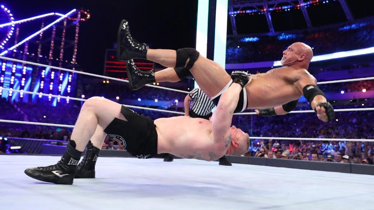Brock Lesnar Universal Championship Match Photos Wwe WallpapersHd