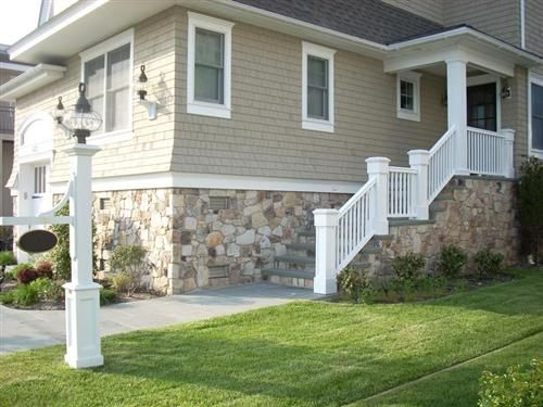 Rock Siding For Homes Fake Stone Siding Field Driftwood Home  Exterior  Pinterest