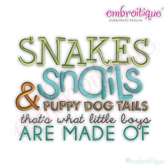 Snakes+Snails+