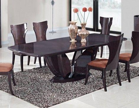 Global Furniture Dining Table Gl D52 Wenge Dt