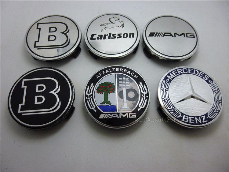 Genuine Mercedes Benz Affalterbach AMG Wheel Center Hub Caps