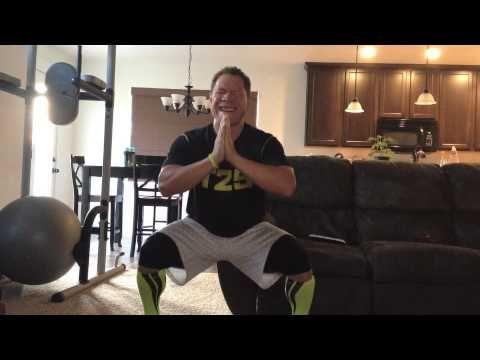 ▶ T25 Lower Focus Squat Hops - YouTube