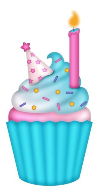 Image Du Blog Zezete2 Centerblog Net Cupcake Clipart Cupcake Illustration Birthday Clips