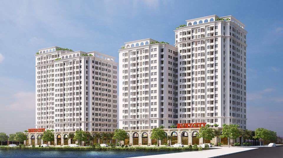 Chung Cư Ruby City CT3 Phúc Lợi, Giá từ 20 tr/m2