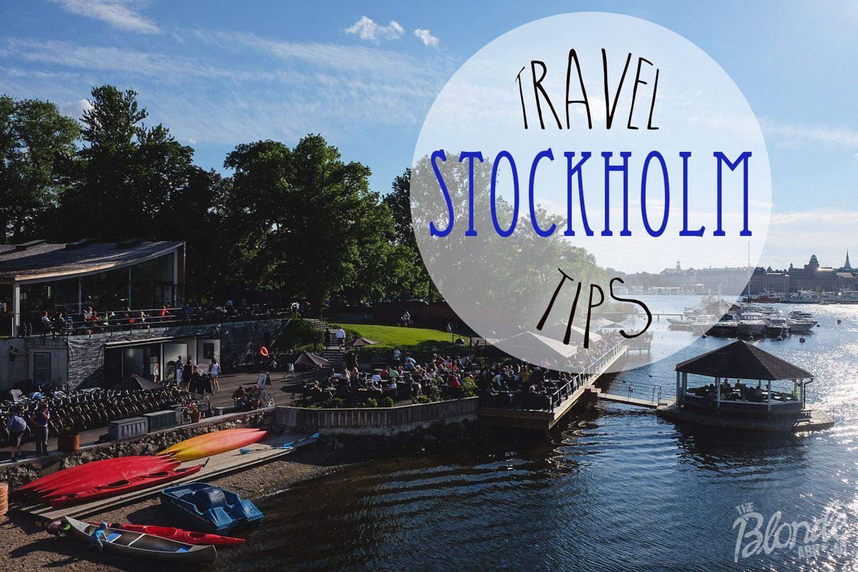 Stockholm Travel Tips