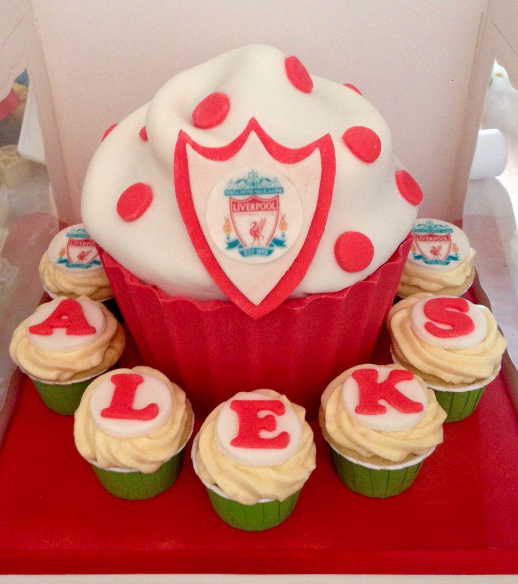 Liverpool fc cupcakes | Birthday Ideas :) | Pinterest