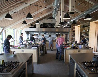 River Cottage Cookery School - hands-on, seasonal cookery courses ...   {Kochschule architektur 24}