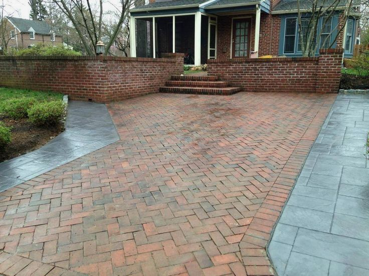 Stamped concrete design ideas. Eliminate your home\'s