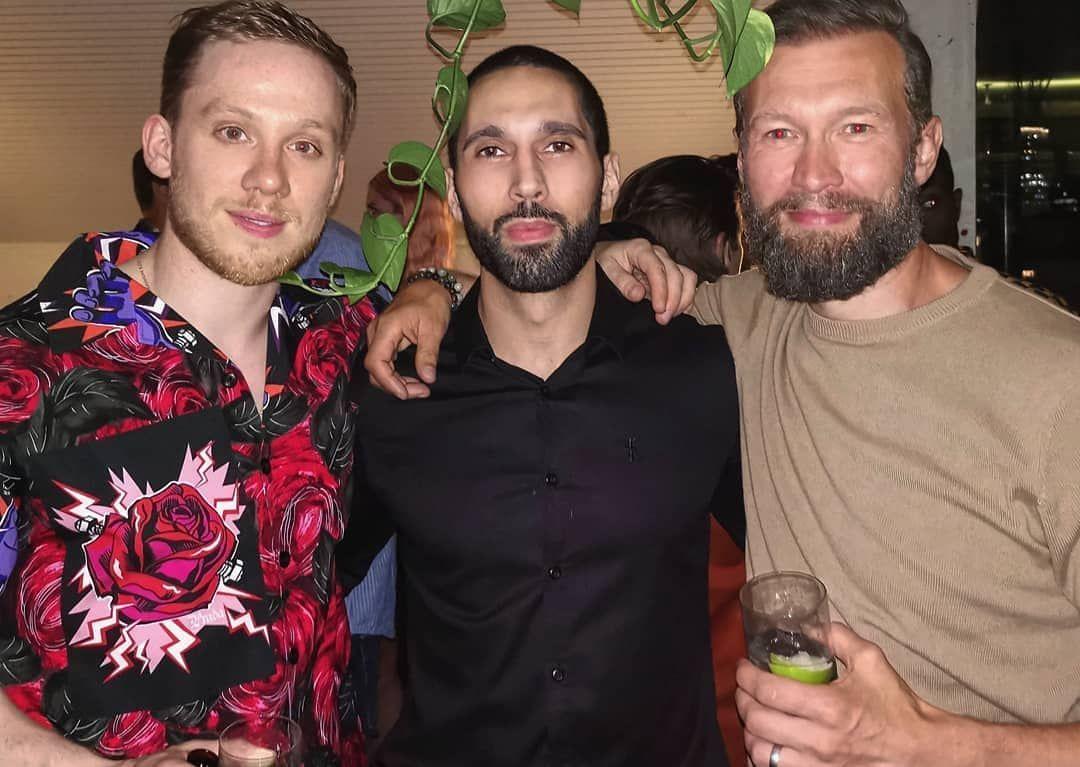 Gangs Of London Wrapp Party Joe Cole Finn Cole Cole