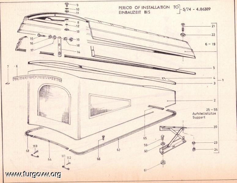 Vintage Campers Resultado De Imagen Para Techo Westfalia