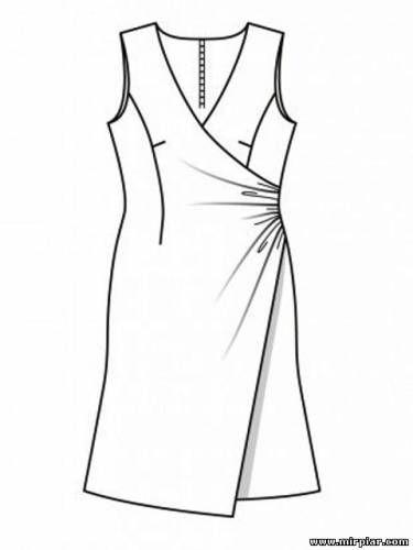 85145e534269359 Готовые выкройки скачать бесплатно и без регистрации: платья, сарафаны,  юбки, туники | Платье | Бесплатная выкройка, Платья, Выкройки