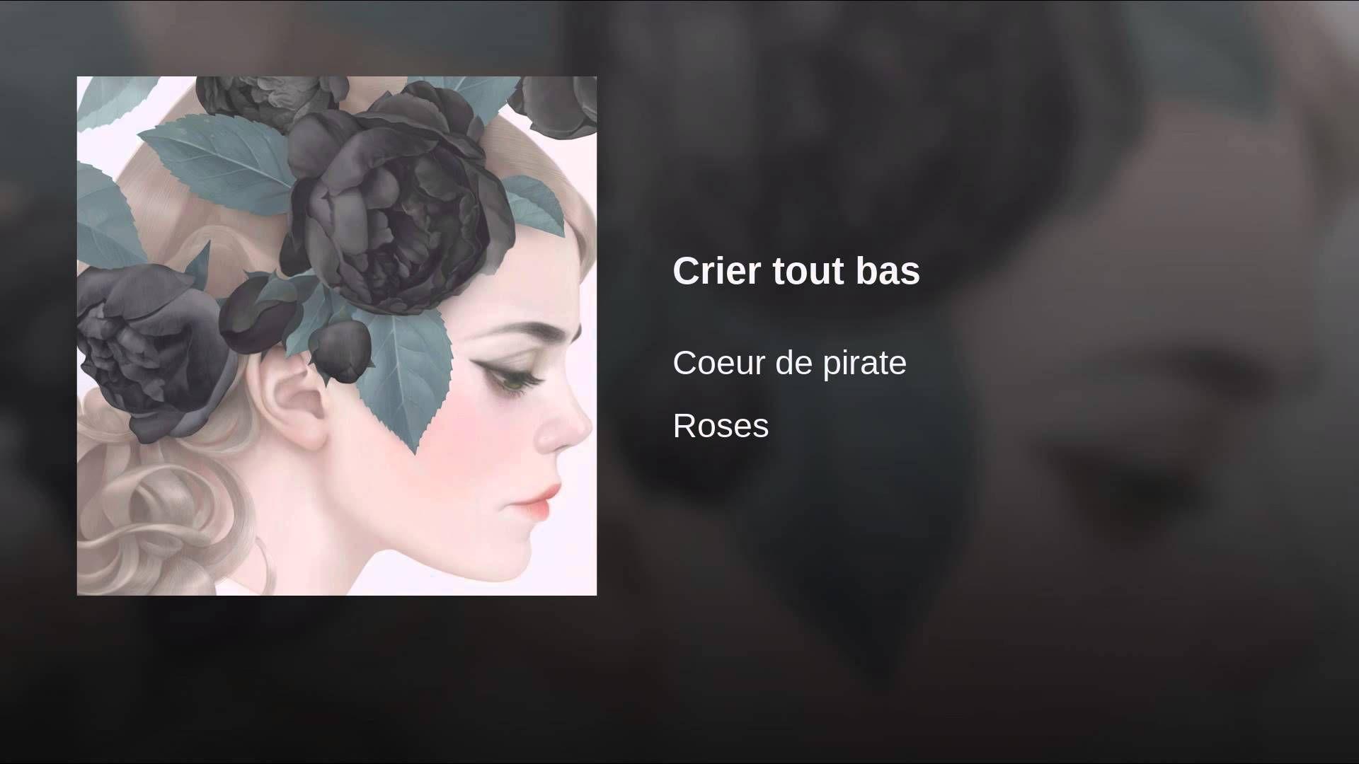Crier tout bas YouTube Cœur de pirate, Music, Poster