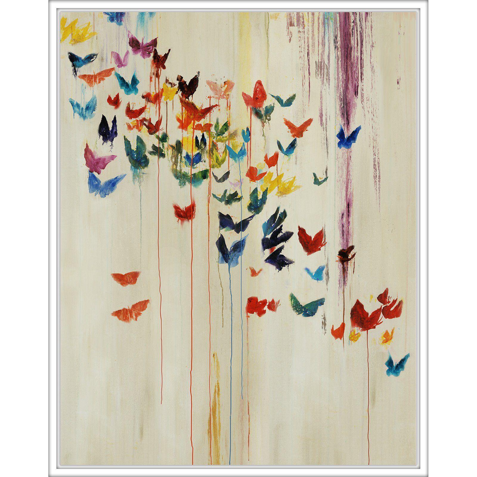Ptm Images Rainbow Butterflies Wall Art Butterfly Wall Art Rainbow Butterfly Wall Colorful Butterflies Art