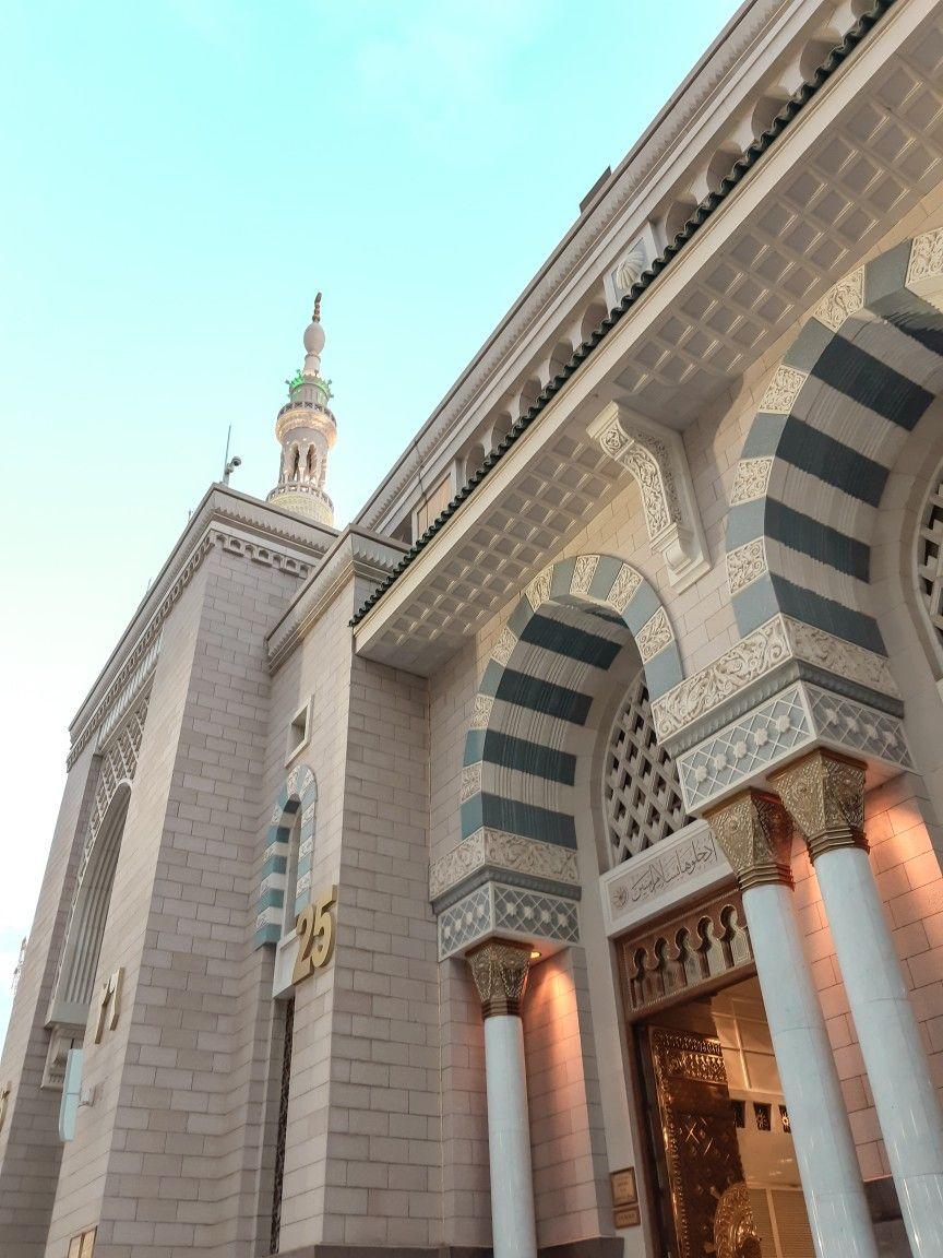 Nabawi Al Mukarrahmah Arsitektur Islamis Arsitektur Fotografi
