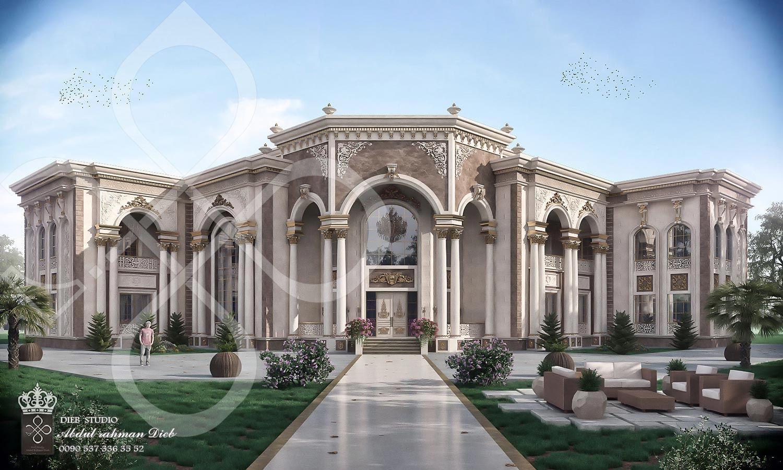 Palace In Classic Style Qatar Download Best Wordpress Themes Free Downloadpremium Wordpress Themes Downloaddownload Pr Rumah Megah Rumah Bangsawan Arsitektur