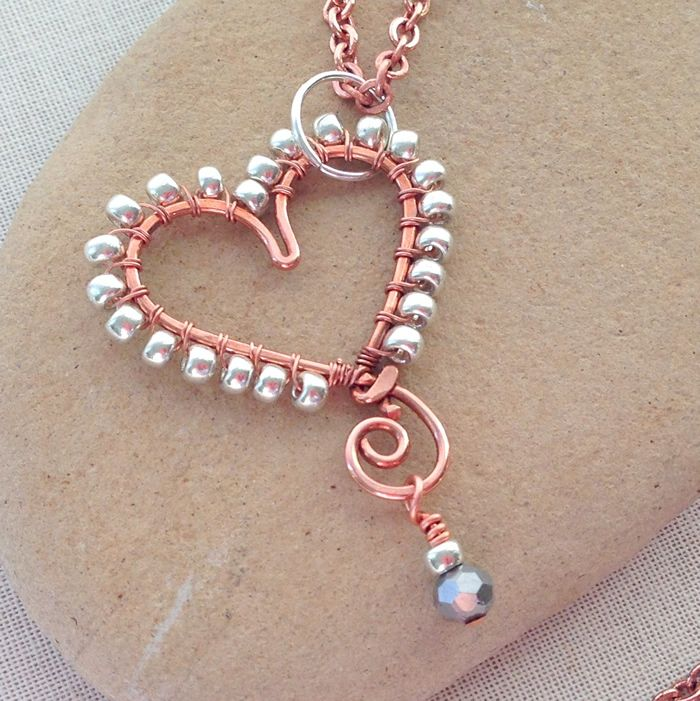 Photo of How to Wrap Beads to the Outside of a Wire Frame, Free Tutorial