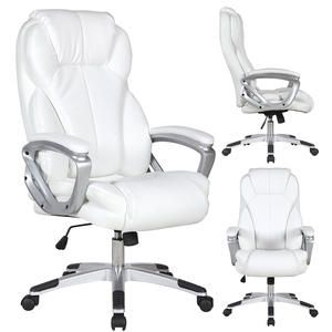 White High Back Executive Pu Leather Office Chair Sears