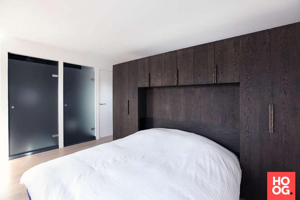 Slaapkamer ontwerp met maatwerk kasten bedroom pinterest