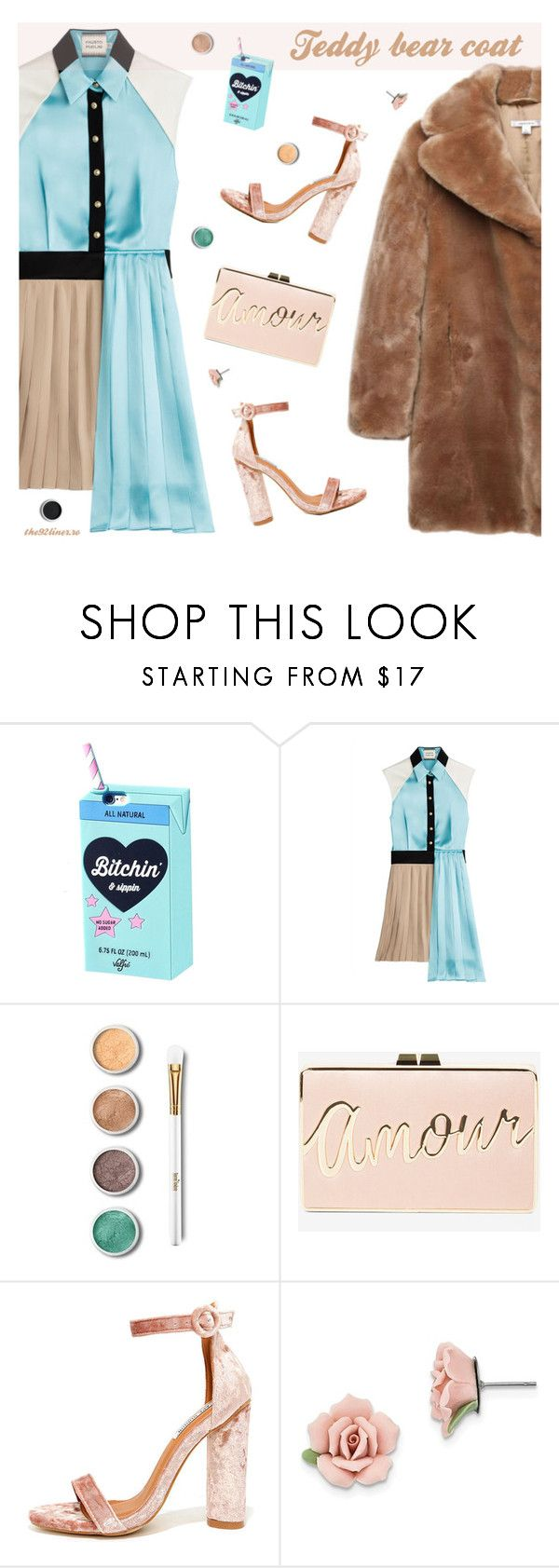 """""""Snuggle Up: Teddy Bear Coats #2"""" by the92liner ❤ liked on Polyvore featuring FAUSTO PUGLISI, Terre Mère, BCBGMAXAZRIA, Cape Robbin, 1928 and teddybearcoat"""