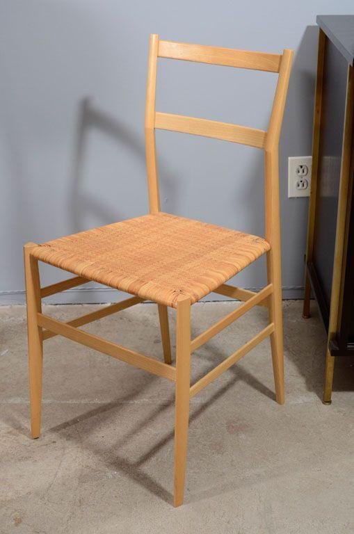 Single Gio Ponti Superleggera Dining Chaircassina  Dining Alluring Single Dining Room Chairs 2018