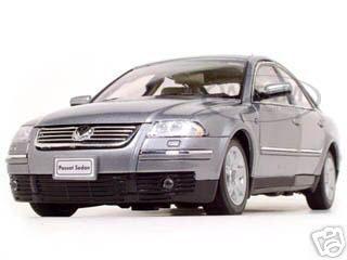 2001 Volkswagen Passat Diecast Model Grey 1 18 Die Cast Car By Welly Volkswagen Passat Vw Passat Diecast Models