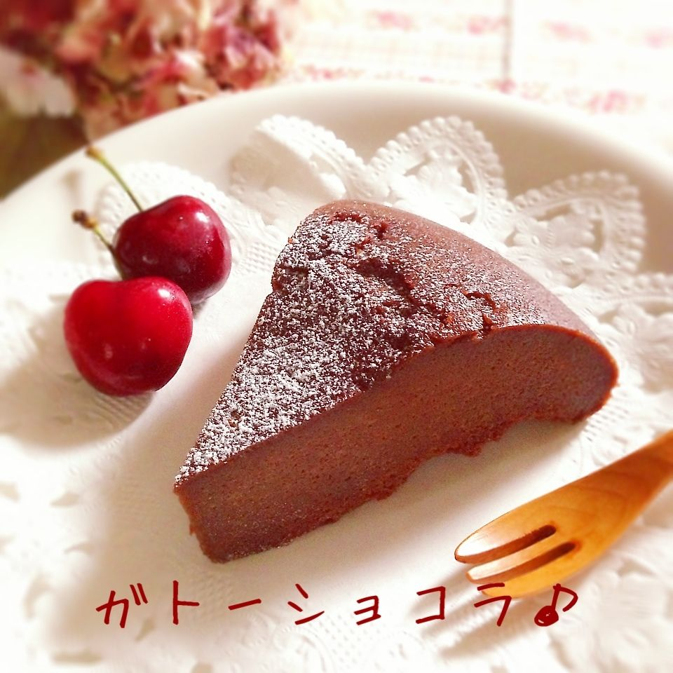 板 ミックス ホット チョコ ケーキ