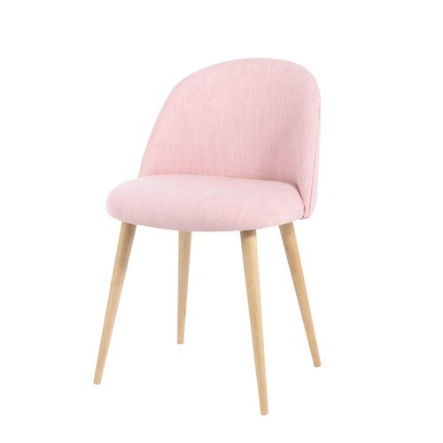 Chaise vintage rose et bouleau massif | Chaise vintage, Bouleau et ...